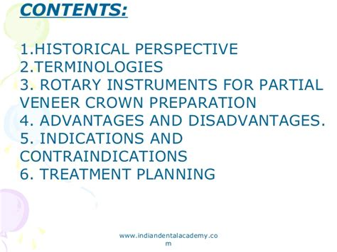 Cd E Book Planning And Crowns And Bridges partial veener crowns certified fixed orthodontic courses by indian
