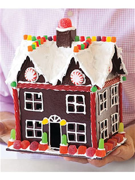 Paper Gingerbread House Craft - gingerbread house crafts crafts for