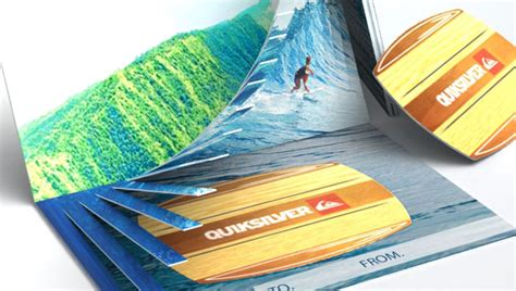 Waves Gift Card - the wave gift card the dieline packaging branding design innovation news