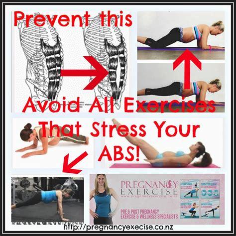 diastasis recti pre postnatal abdominal separation pregnancy exercise