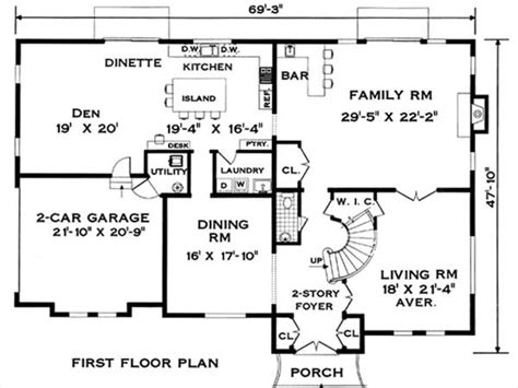 one colonial house plans colonial house plans one level colonial