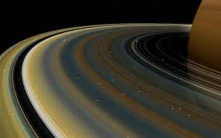 what color is saturn s rings one of saturn s ring has played tricks on astronomers for