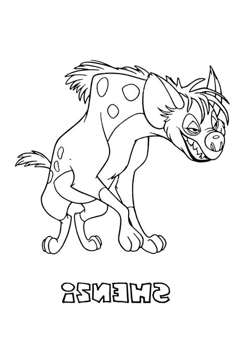 baby hyena coloring page hyena coloring pages getcoloringpagescom sketch coloring page