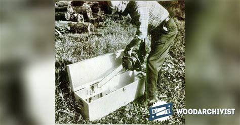 diy chainsaw storage box woodarchivist