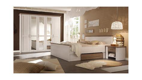 schlafzimmermöbel set schlafzimmer set luca pinie wei 223 und tr 252 ffel 4 teilig