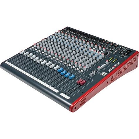 Allen Heath Mixer Live Zed18 allen heath zed18 18 channel multipurpose usb mixer for