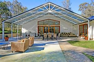 Gabled Pergola by Large Gable Pergolas Hi Craft