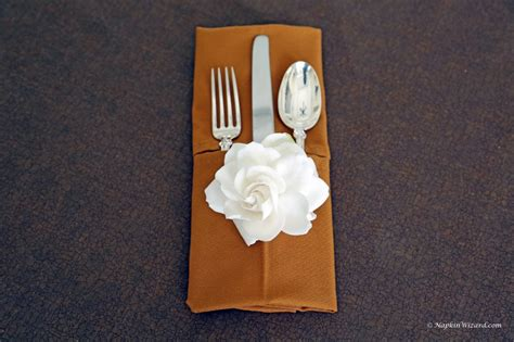 Napkin Origami - wedding napkin folding hairstyles