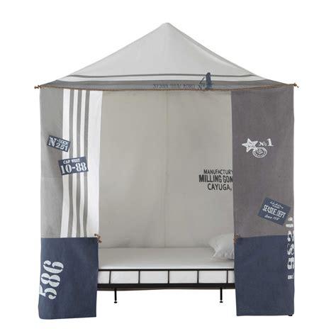 tenda bambino tenda bambino in cotone grigio 200 x 250 cm newport