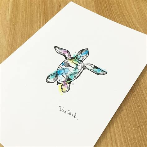 watercolor tattoo oahu oltre 25 fantastiche idee su tatuaggi di tartaruga marina