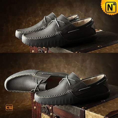Handmade Driving Shoes - italian handmade leather driving shoes cw740108