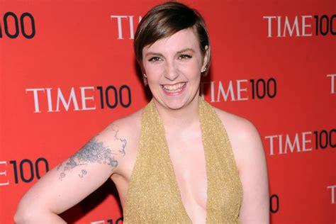 tattoo girl new tv show girls fan gets handwritten lena dunham quote tattoo