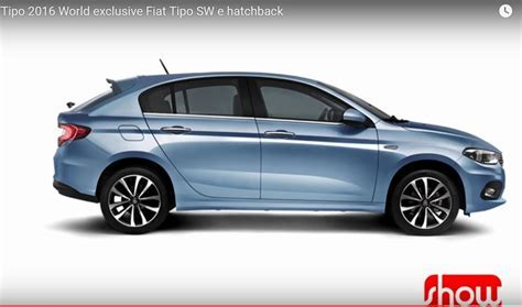 Fiat Tipo hatchback side profile   Rendering
