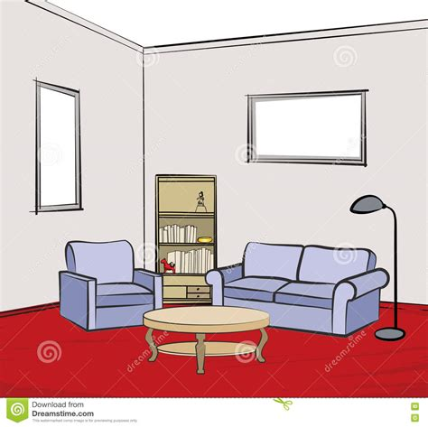 Living Room Interior Design Infographic Template Vector Living Room Furniture Templates