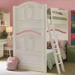 Bedroom designs cool pink girl bunk beds singgle bed