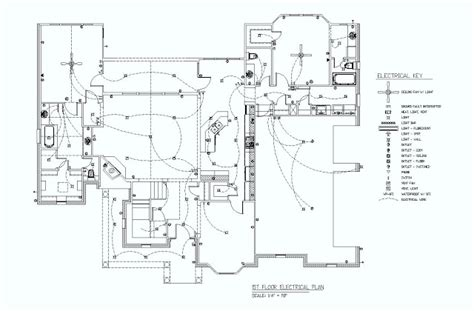 electrical floor plans 1st floor electrical plan electrical engineering blog