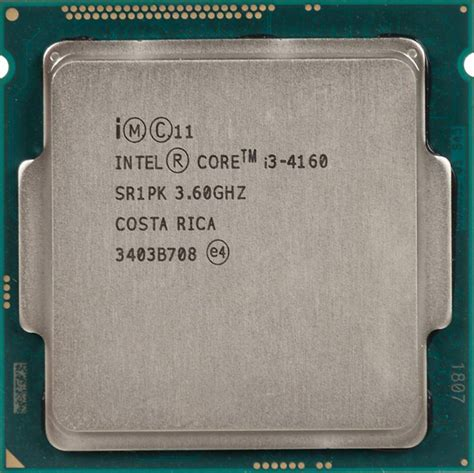 Processor I3 4160 36ghz Lga 1150 Original Box Intel Original I3 4160 Soc 1150