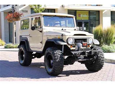 old land cruiser classic toyota land cruiser for sale on classiccars com