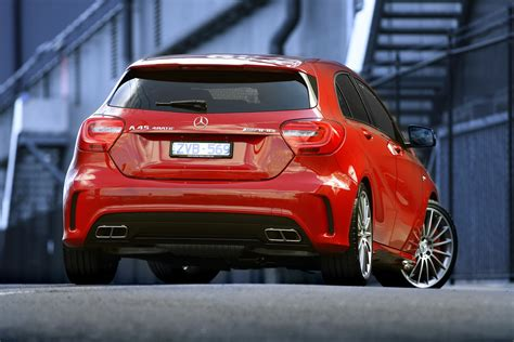 mercedes a45 amg review mercedes a45 amg review caradvice
