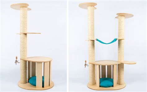 top 5 best modern cat trees of 2017 urban minimalist modern cat trees with natural materials no carpet