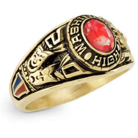 keepsake s classic oval class ring walmart