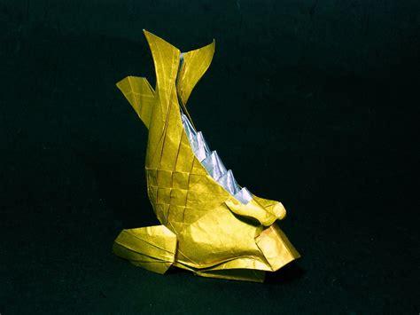 Origami Wiki - file shachihoko origami jpg wikimedia commons