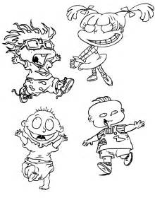 nickelodeon coloring book free printable rugrats coloring pages for