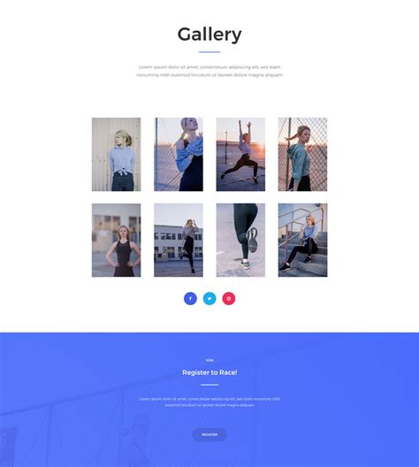 elegant themes gallery page get a free marathon layout pack for divi elegant themes blog