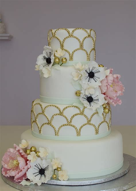 fondant wedding cake cakecentralcom