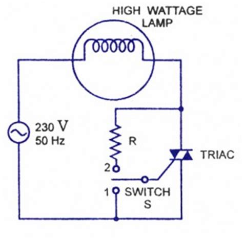 triac design application notes triac applications electronic circuits and diagrams
