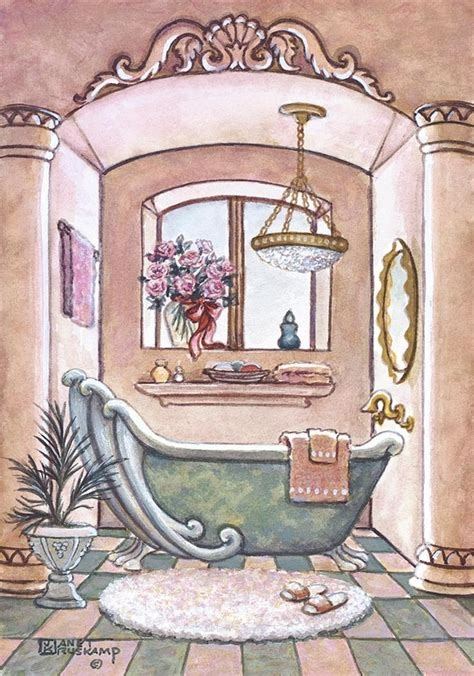 bush bathroom paintings 17 best images about art janet krusk on pinterest