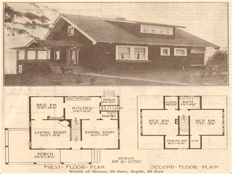 Traditional Bungalow House Plans by 1915 Bungalow House Plans This 1915 Bungalow House