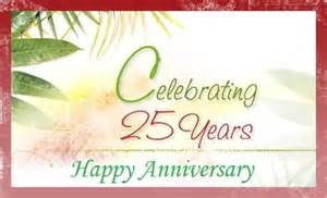 lovely greetings 25th anniversary wishes for friend nicewishes