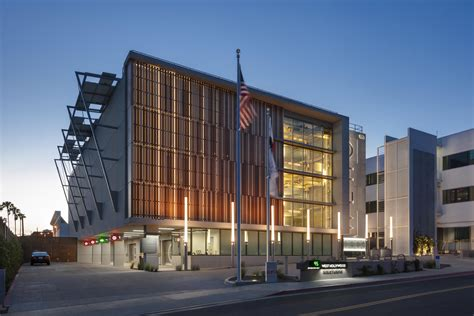 West Parking Garage by West Debuts Automated Parking Garage Designed By