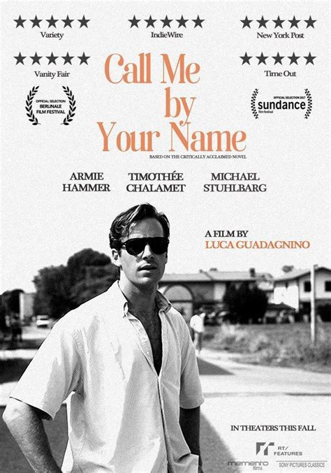 movie info call me by your name by armie hammer image gallery for quot call me by your name quot filmaffinity
