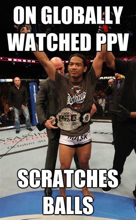 Joe Rogan Meme - on globally watched ppv scratches balls dgaf joe rogan