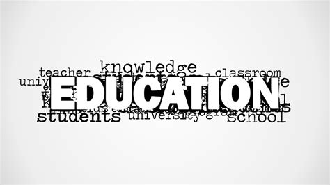 word for education word cloud picture for powerpoint slidemodel