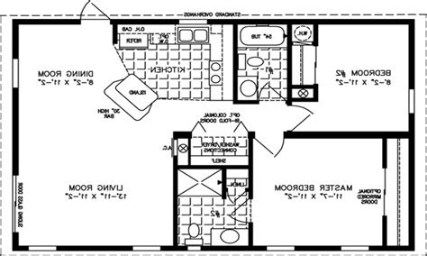 800 square feet 800 square feet 1 bedroom apartment modern house plan