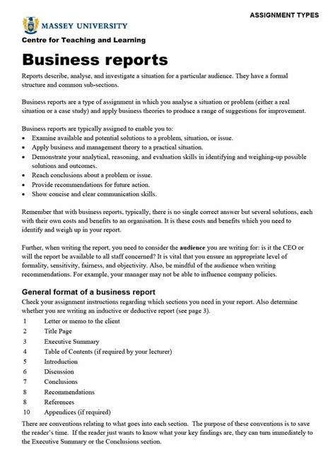 report template format 30 business report templates format exles template lab