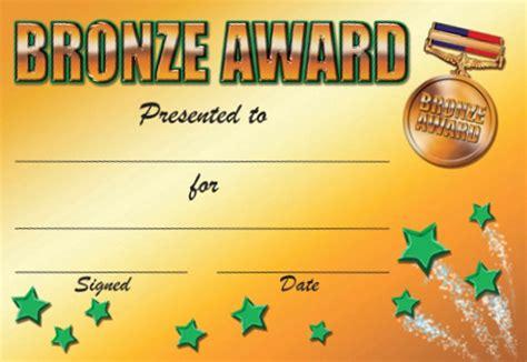 graphic design certificate maryland bronze award certificate templates gallery certificate