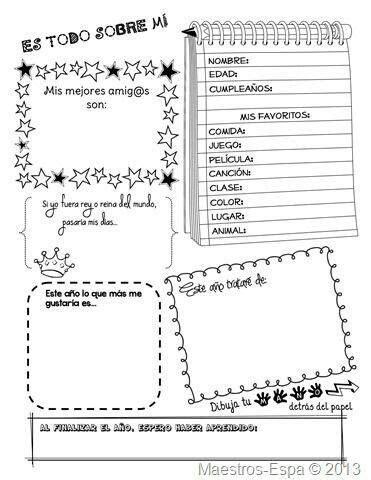 todo sobre caricaturas mi clase de ingles primer dia de clases school ideas pinterest primer