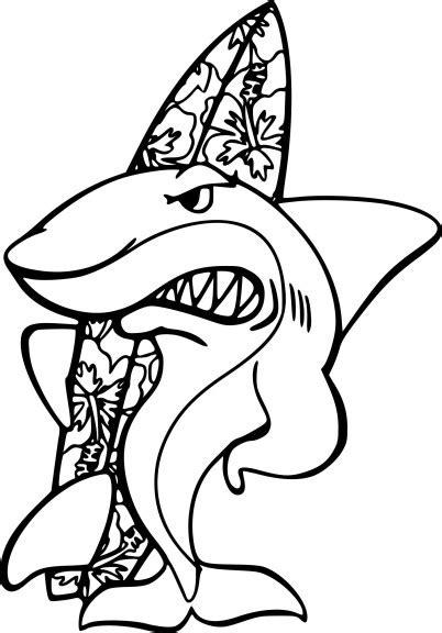 Coloriage Requin Fait Du Surf 224 Imprimer Coloriage De Mandala AnimauxL