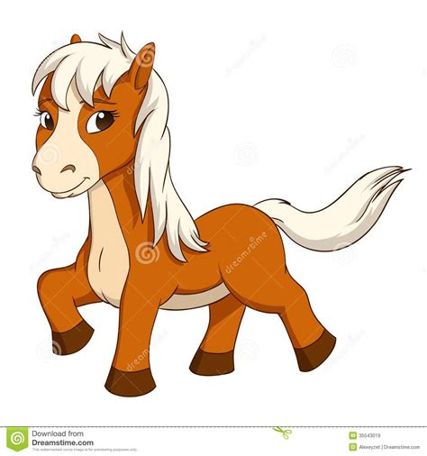 cute cartoon baby pony cute baby horse clipart clipart panda free clipart images