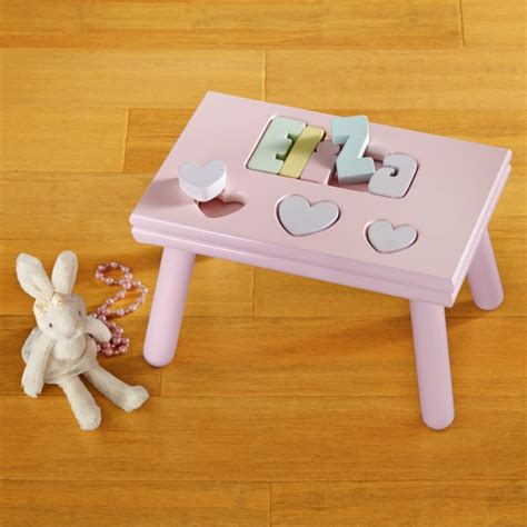 Personal Creations Puzzle Stool by Personalized Gifts For Daughters At Personal Creations