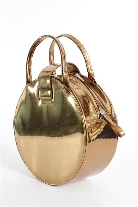 Bag Import Gold disenia golden circle bag from mexico shoptiques