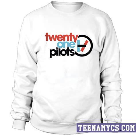 Sweater Twenty One Pilots Logo Redmerch twenty one pilots logo sweatshirt teenamycs