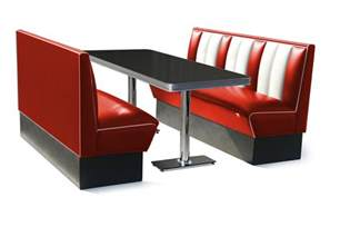 50s furniture retro furniture diner booth 150cm six seater