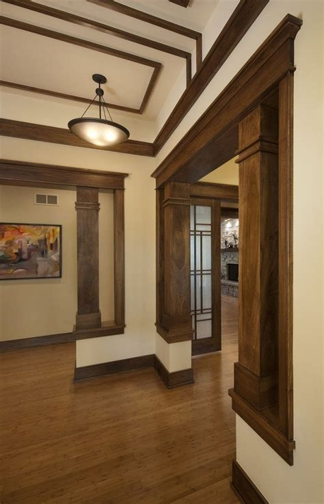 interior wood trim styles 17 best images about columns on pinterest craftsman