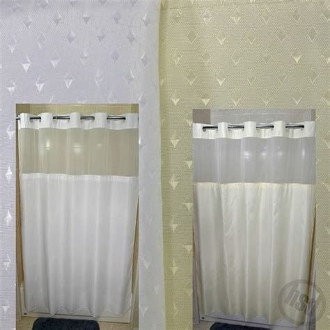 shower curtain see through rujan peek a boo stardust style polyester shower curtain