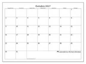 Calendario 2018 Mes De Outubro Calend 225 Rios Para Imprimir Outubro 2017 Portugal